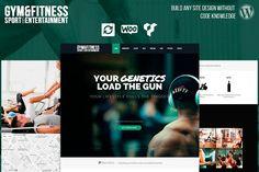 Gym Sports & Fitness WordPress Theme by Visualmodo on @Graphicsauthor
