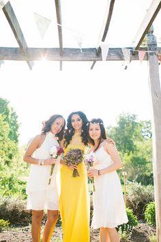 White Bridesmaid Dresses http://www.marshalgraystudio.com/