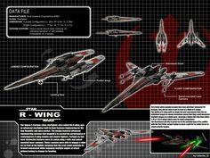 Star Wars Cyclone Class R-Wing by calamitySi.deviantart.com on @DeviantArt