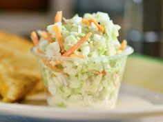 Tangy and Sweet Diner Slaw Recipe | Jeff Mauro | Food Network