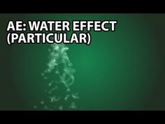 After Effects Tutorial: Water With Particular (Beginner) - YouTube