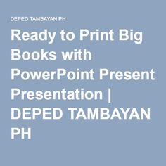 Ready to Print Big Books with PowerPoint Presentation credits to authors found in each story CEBUANO An Kasinatian Sa Bukid . Big Books, Classroom Displays, Ph, Presentation, Printable, Child, Children, Kid, Infant