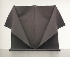 wool felt and textiles: Untitled, 1976, felt by Robert Morris & Interview by Simon Grant