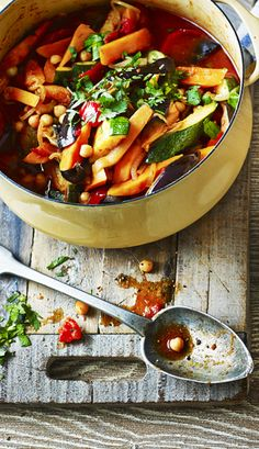 A veggie tagine that's cheap to make, healthy and full of flavour. Plus, it freezes well