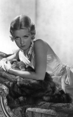 Joan Bennett. Photo by George Hurrell, 1933.