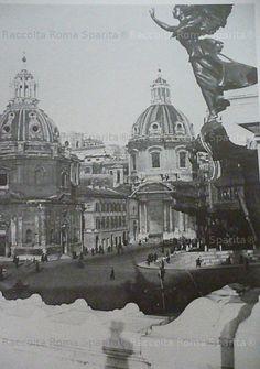 Roma Sparita. Foto storiche di Roma - Le chiese del Foro di Traiano (agenzia giornalistica Vedo, 1933)