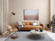 Beige on the walls. Clash of pastels