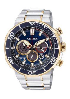 """Citizen, Chronograph, """"CA4254-53L"""" für 399,00€. Sportlicher Herrenchronograph, Edelstahlgehäuse, Ø ca. 46 mm, Armband aus Edelstahl bei OTTO"""