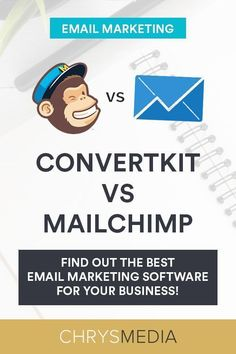 ConvertKit vs MailChimp: Which Is Better? Best Email Marketing Software, Email Marketing Design, Online Marketing Strategies, E-mail Marketing, Content Marketing Strategy, Business Web Design, Pinterest Marketing, Business Entrepreneur, Online Business