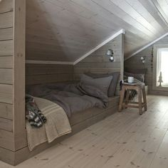 Bedroom rustic