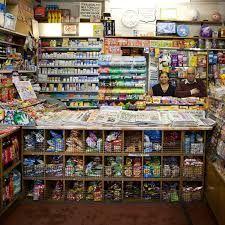 corner shop counter