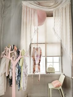 Gray, cream and pink<3