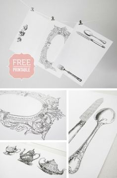 Ginasdesignsspot vintage seamstress click the download sunshine and bones free vintage paper placemats printable pronofoot35fo Images