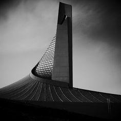 Yoyogi National Gymnasium by Kenzo Tange (1963-1964) / Shibuya, Tokyo, Japan