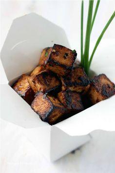 Sweet, Sticky & Spicy Tofu