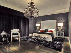 The Nuance of Dark in the Bedroom Design and Ideas | Home Interior Design