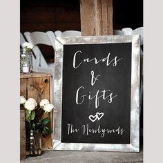 Wedding Reception Sign CARDS GIFTS Sign table by DigitalPrintShop