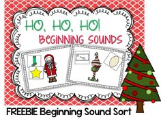 FREEBIE kindergarten beginning sound sort