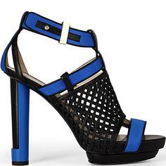 Burak Uyan leather platform sandal