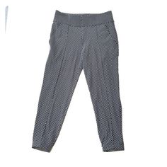 LULULEMON Departure Pant Super cute black & white polka dot pants! ❌NO TRADES ❌ NO PAYPAL!!! You can wear these ANYWHERE and look awesome! lululemon athletica Pants Ankle & Cropped
