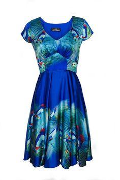 Hummingbird Circle Dress