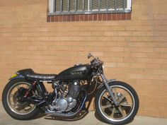 1979 YAMAHA SR500 - MEAN MACHINES - HELL KUSTOM