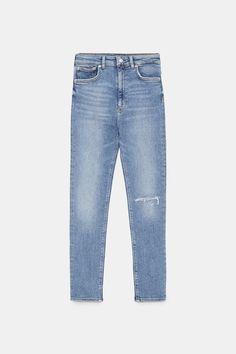 a823e3701d Image 9 of ZW PREMIUM 80S HIGH WAIST VENICE BLUE JEANS from Zara Styles P