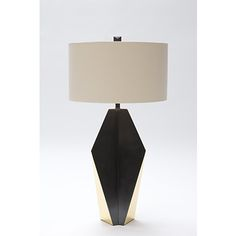 Accessories Table lamps Lighting ORIGAMI FUSE LAMP 80077-01 Donghia,Accessories,Table lamps,Lighting,Accessories ,80077,80077-01,ORIGAMI FUSE LAMP