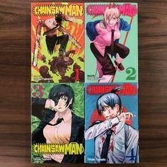 Chainsaw Man English Version Vol.1-4 Set Anime Comic Book Manga from Japan | eBay Comic Books For Sale, Unknown Soldier, Viz Media, Teen Titans, Anime Comics, Chainsaw, Spiderman, Im Not Perfect, English