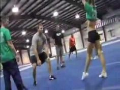 i saw these a long time ago and im still captivated every time i watch. these are awesome! awesome cheerleading stunts. stingrays