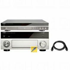 Yamaha RX-V1073 titan plus Yamaha BD-S673 titan+HDMI Kabel