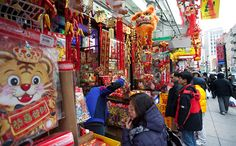 So many cultures around every corner! It is like touring the world in one place.    China town