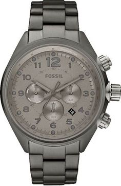 CH2802, 2802, FOSSIL chronograph watch, mens