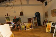 "Atelier at ""Fazenda dos Dourados"" farm - Furnas - Brazil"