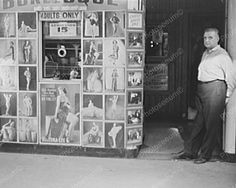Burlesque House South State Chicago Illinois Vintage 8x10 Reprint Of Old Photo