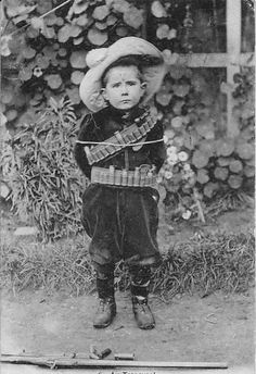 Boer boy during the Second Boer/Anglo War