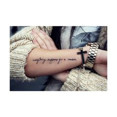 Meaningful Arm Tattoo Quotes, sometimes the right path is not the... ❤ liked on Polyvore featuring tattoos