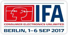IFA Berlin, 1 - 6 September 2017