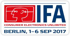 IFA Berlin, 1 - 6 September 2017