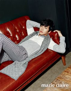 Eye Candy : Ji Chang Wook for Marie Claire // rolala loves