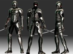 ninja cyborg | Cyborg Ninja set --- 100k - Toribash Community