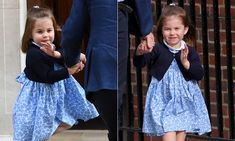 Princess Charlotte joined Prince George to meet their newborn brother at the Lindo Wing in Paddington. Prince William and Kate Middleton announced the arrival of the third royal baby on Monday afternoon...