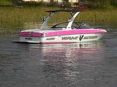 Oh yeah! Pink Malibu Wakesetter