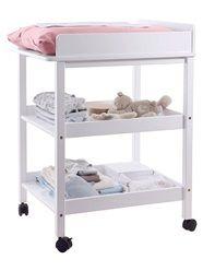 Mesa cambiador compacta habitación bebé niño y niña