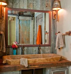 Bathroom Accent Wall · Barn Wood · Barnwood · Design, Pictures, Remodel, Decor and Ideas