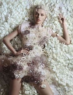 Pastel-Petaled Photoshoots - The Aline Weber for Numero #132 April 2012 Editorial is Ethereal (GALLERY)
