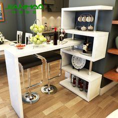 Resultado de imagem para divisoria com armario em cozinha americana