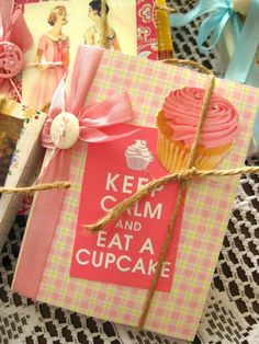 journals ~ The Beehive Cottage  This is a great idea for making your own cookbook!