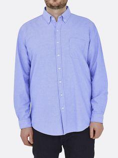 Shirt Cotton Oxford Blue