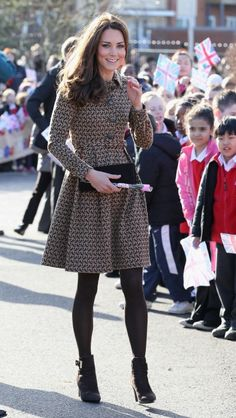 The Duchess Of Cambridge Visits Rose Hill Primary School